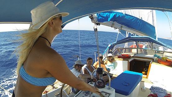Saronic Cyclades 1 week sail