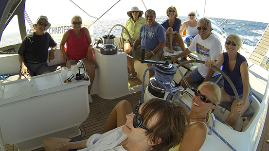 A sailing trip to remember in Greece
